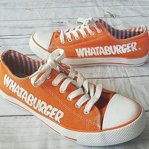 Shoes | Whataburger Canvas Sneakers Sz